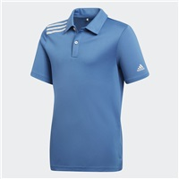 Adidas Junior 3-Stripes Tournament Polo Trace Royal 2018
