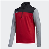Adidas Junior Layering 1/2 Zip Layering Sweatshirt Power Red 2018