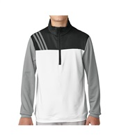 Adidas Junior Layering 1/2 Zip Layering Sweatshirt White 2018