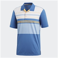 Adidas Ultimate 365 Engineered Block Polo Trace Royal/Real Gold 2018