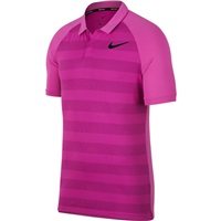 Nike Golf Zonal Cooling Golf Polo Hyper Magenta/Light Carbon 2018