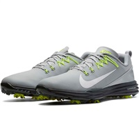 Nike Golf Lunar Command 2 Golf Shoe White/Thunder Blue/Wolf Grey