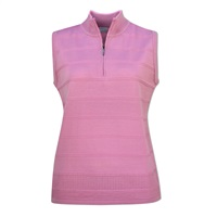 Ping Ladies Tate Mid Layer Golf Top Lilac Chiffon 2018