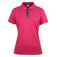 Ping Ladies Shelby Polo Hot Pink/Dark Citadel Grey 2018