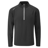Ping Kelvin Half Zip Golf Top Black 2018