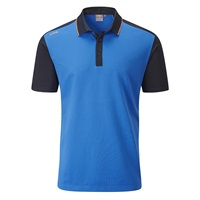 Ping Quinn Golf Polo Shirt Imperial Blue/Navy 2018