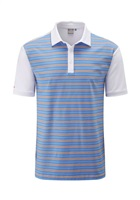 Ping Theodore Polo Shirt White/Imperial Blue Multi 2018