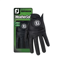 FootJoy WeatherSof Glove Left Hand Black 2018