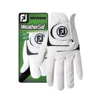 FootJoy WeatherSof Glove Left Hand White