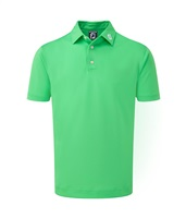 FootJoy Stretch Pique Solid Colour Athletic Fit Polo Shirt Green 2018