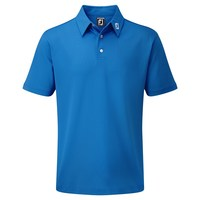 FootJoy Stretch Pique Solid Polo Shirt Cobalt