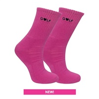 Surprize Shop Ladies Crew Sock Pink 2018