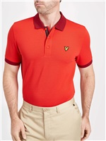 Lyle & Scott Talla Tour Polo Shirt Pavilion Red 2018