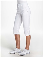 Rohnisch Ladies Flow Capri Pants White 2018