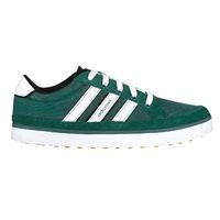 Adidas Adicross IV Golf Shoes Wide - Forest Green/Sun/White