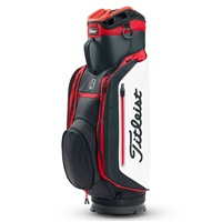 Titleist Lightweight Club 14 Golf Cart Bag Black/White/Red 2018