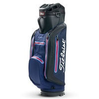 Titleist StaDry Lightweight Golf Cart Bag Navy/Black/Red