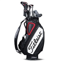 "Titleist Tour Staff 9.5"" Golf Bag Black 2018"