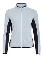 Calvin Klein Golf Ladies Harbour Full Zip Tech Top Sail 2018