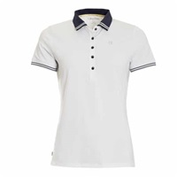 Calvin Klein Golf Ladies Island Polo White/Night Blue 2018