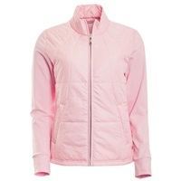 Green Lamb Ladies Jill Embossed Padded Front Jacket Pink 2018