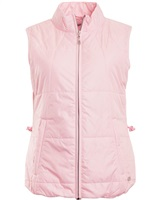 Green Lamb Ladies Jody Embossed Padded Gilet Pink 2018