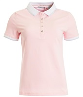 Green Lamb Ladies Patsy Jersey Club Polo Shirt Pink 2018