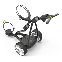 Powakaddy FW3s Electric Golf Trolley 18 Hole Lithium Battery Black