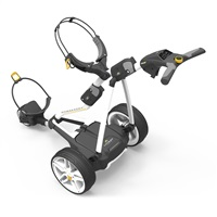 Powakaddy FW3s Electric Golf Trolley 18 Hole Lithium Battery White
