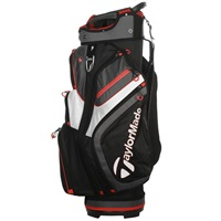 TaylorMade 2.0 Cart Bag Black/White/Red