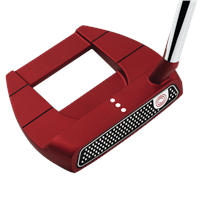 Odyssey O Works Jailbird Mini S Red Putter Mens Right Hand