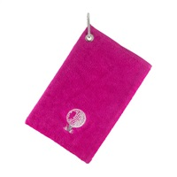 Surprize Shop Bag Towel With Carabiner Pink 2018