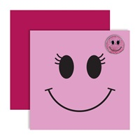 Surprize Shop Pink Smiley Ball Marker Card 2018