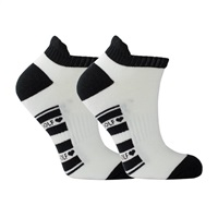 Surprize Shop Ladies  Golf Socks Pair of White/Black 2018