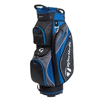 TaylorMade Pro Cart 6.0 Cart Bag Black/Charcoal/Blue 2018