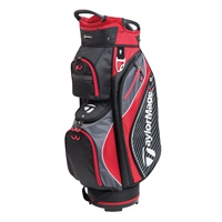 TaylorMade Pro Cart 6.0 Cart Bag Black/Charcoal/Red 2018