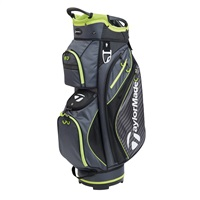 TaylorMade Pro Cart 6.0 Cart Bag Charcoal/Black/Green 2018