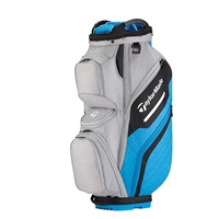 TaylorMade Supreme Cart Bag Grey/Blue