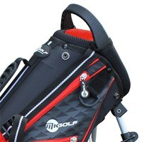 Masters Junior MKids Lite Stand Bag 53 Inch Red