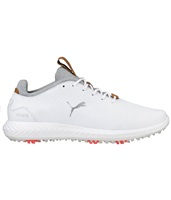 Puma Junior Tour Lux Shoes White/White 2018