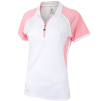 Island Green Ladies Durable Quick Drying Comfort Polo Candy Pink 2018