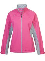 Proquip Ladies Aquastorm Ebony Jacket Bright Pink/Dove Grey/Black 2018