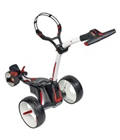 Motocaddy M1 Electric Trolley 18 Hole Lithium Battery Alpine White