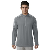 Adidas 3-Stripes 1/4 Zip Sweatshirt Grey 2018