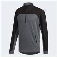 Adidas Go-To Adapt 1/4 Zip Sweatshirt Black/Grey 2018
