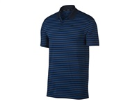 Nike Golf Dry Victory Stripe Golf Polo Shirt Gym Blue/Obsidian/Black 2018