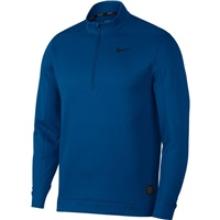 Nike Golf Therma Repel Half-Zip Golf Top Gym Blue/Black 2018