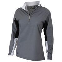Island Green Ladies Water Repellent Top Grey 2018