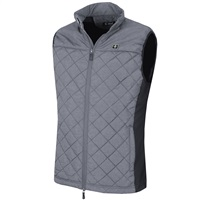 Island Green Lightweight Padded Golf Gilet Charcoal/Black 2018
