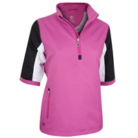 Island Green Ladies Water Repellent Windstopper Pink/Black/White 2018